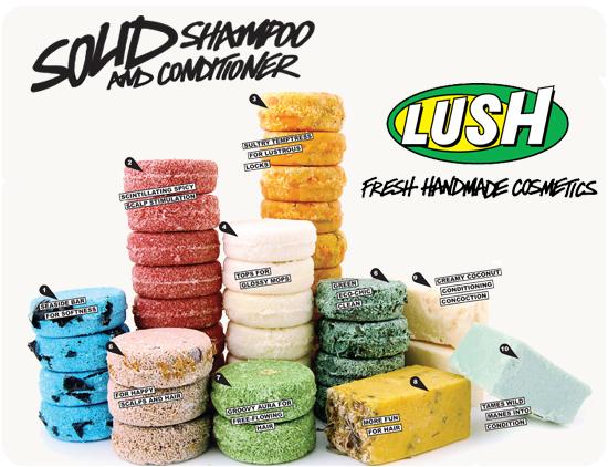 LUSH Solid Shampoos