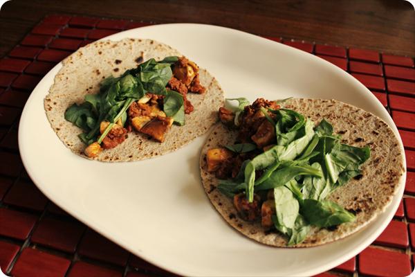 Soyrizo Mushroom Tacos