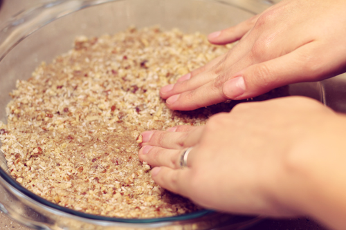 Raw Gluten-Free Vegan Pie Crust