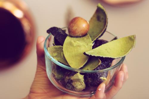 Avocado Peels by Veggie Angie