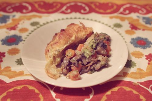 Veggie Angie Mushroom & More Pot Pie