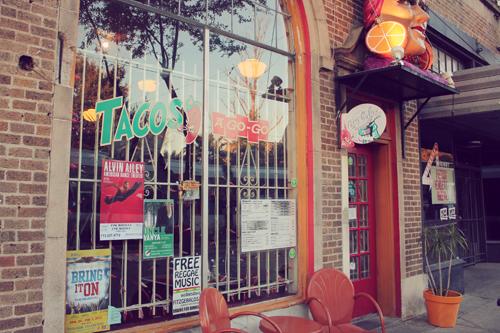 Tacos A Go-Go Exterior