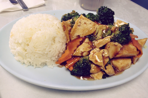 Saigon Express: Broccoli Tofu