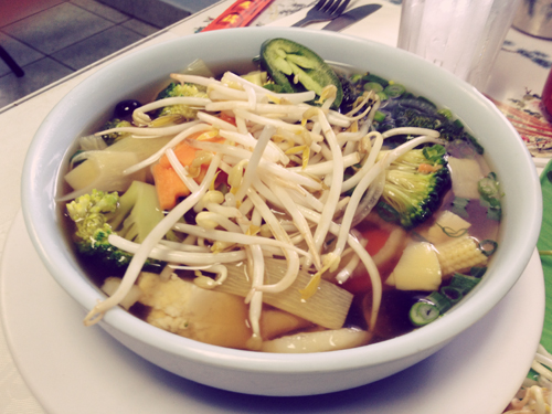 Saigon Express: Vegetable Pho
