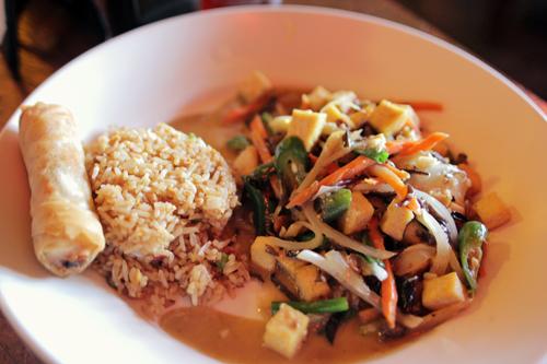 Tong's Thai: Pad Khing Tofu