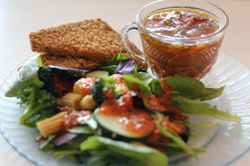 Quicksands Vegan Soup and Salad