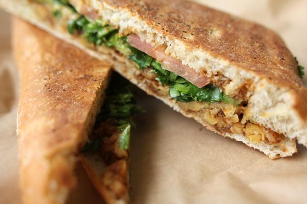 Green Seed Vegan's Latini Panini