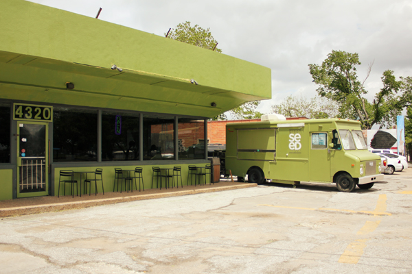 Houston Review Green Seed Vegan Veggie Angie