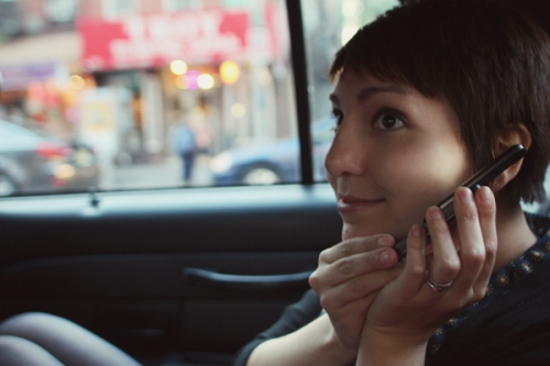 Flying through Manhattan in a Taxi