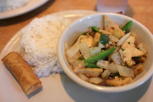 Lunch at Thai Topaz