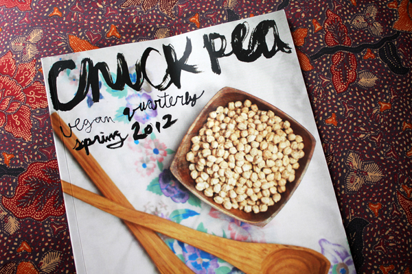 Chickpea Magazine Vegan Quarterly Spring 2012