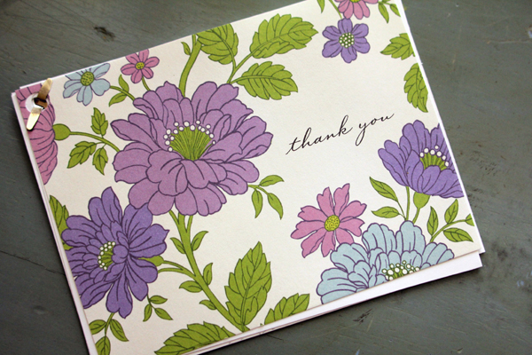 Thank You Card for my Mother