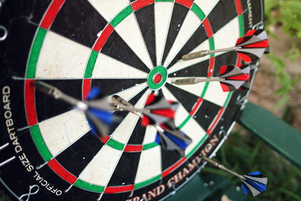 Outdoor Dart Board