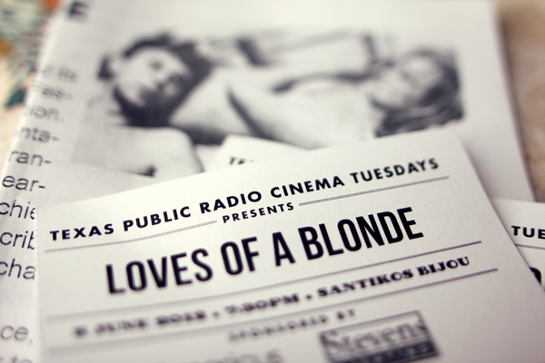 TPR Cinema Tuesdays - Love of a blonde