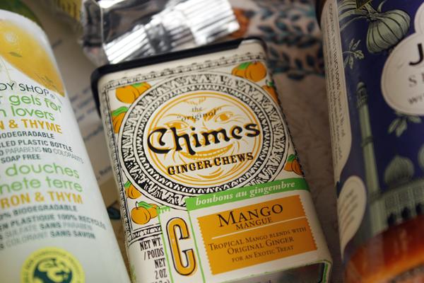 June Vegan Food Swap - Mango Ginger Chews