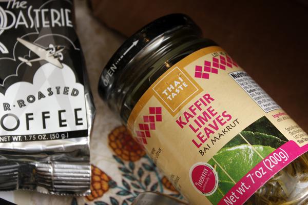 June Vegan Food Swap - Kaffir Lime Leaves
