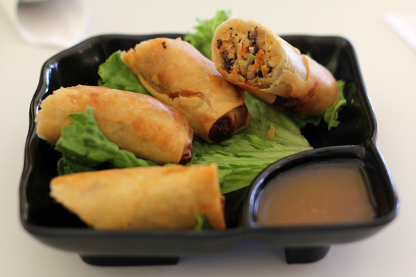 Spring Rolls at Loving Hut