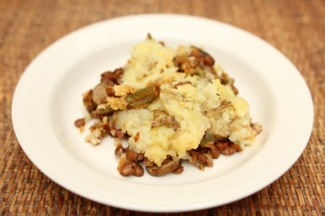 The Engine 2 Diet Shepherd's Pie