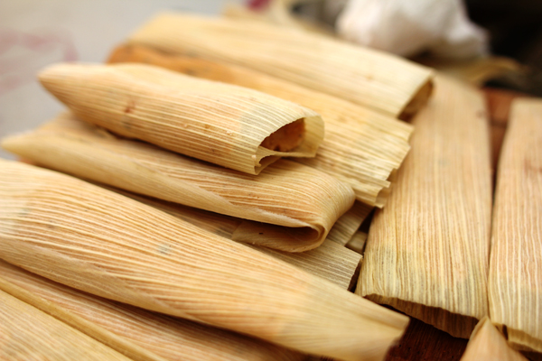 Vegan Black Bean Tamales