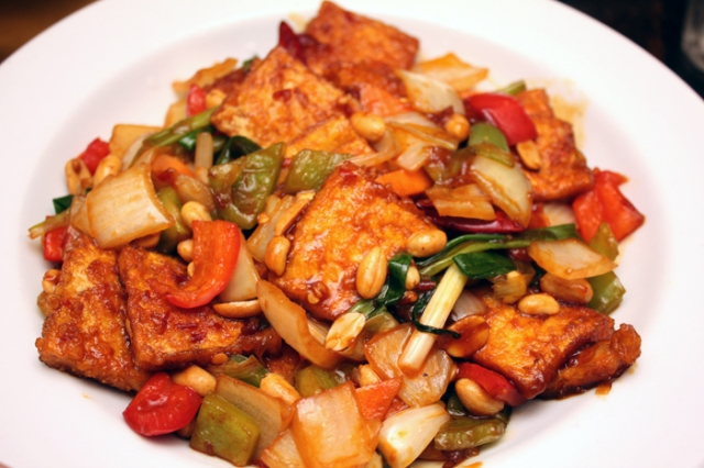 Tofu Kung Pow at Nami Cuisine