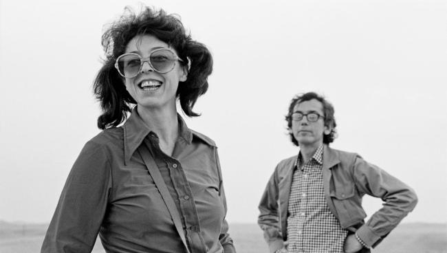 Artists Jeanne-Claude and Christo