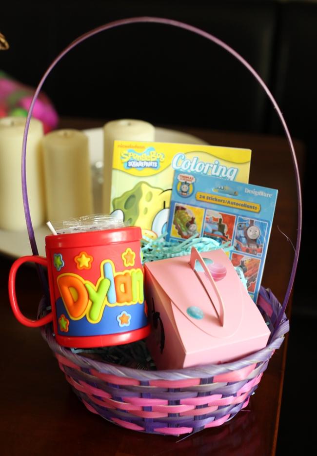 Dylan's Easter Basket
