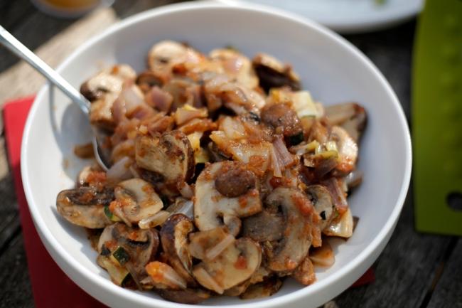 Sautéed Mushroom Taco Filling