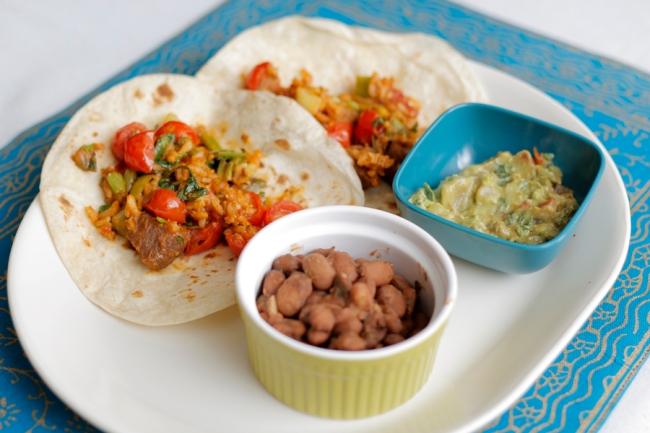 Cinco de Mayo Leftovers Lunch