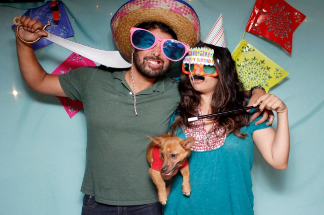 Birthday Photo Booth | #veggieangie