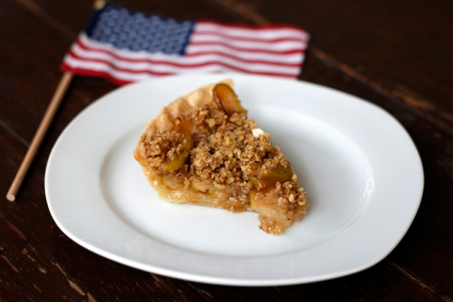 Vegan Apple Pie | #veggieangie