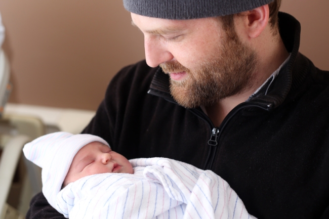 My Brother-In-Law Travis with his Daughter Lillian | #veggieangie