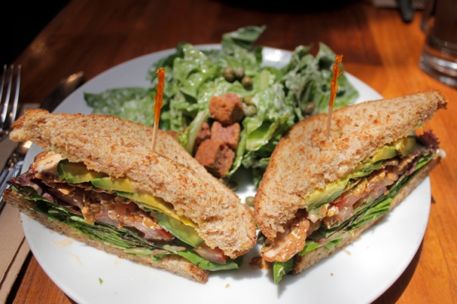 Spicy BLT at Real Foods Daily West Hollywood