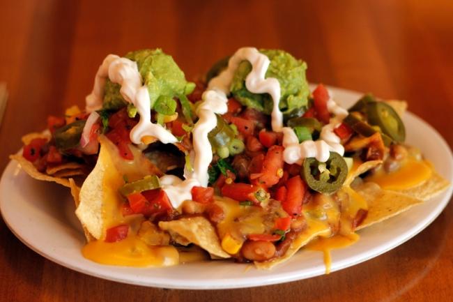 Uptown Nachos at Veggie Grill | #veggieangie
