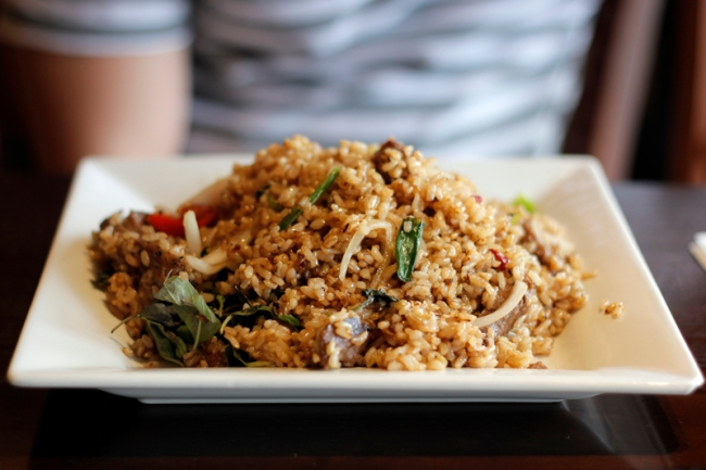 Fried Rice at Bodhi Vegetarian & Vegan Kitchen