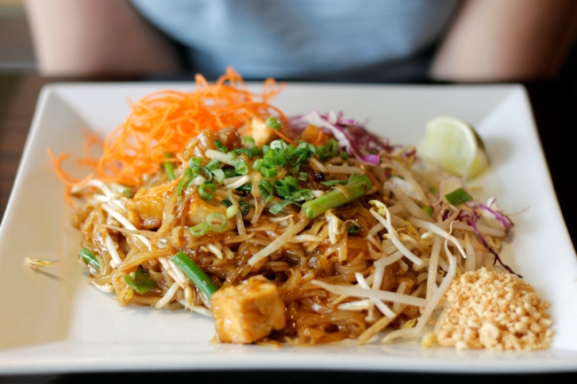 Pad Thai at Bodhi Vegetarian & Vegan Kitchen