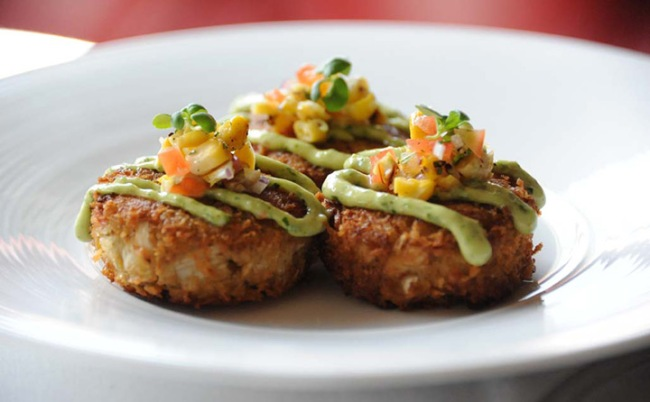 """Crab Cakes"" at Crossroad Kitchen"