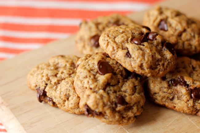 Vegan Chocolate Chip Cookies Recipe | #veggieangie #vegan