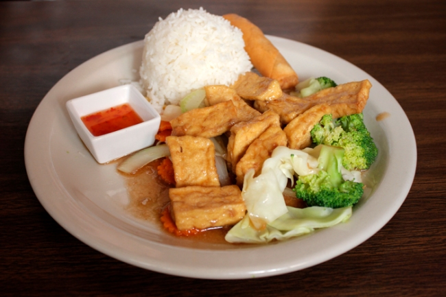 Thai Hot's Pad Garlic | #veggieangie
