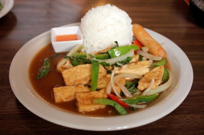 Thai Hot's Pad Kapow (Basil) | #veggieangie
