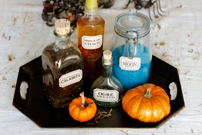 Free Vintage Apothecary Jar Labels #veggieangie
