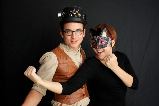 Steampunk Mark and Angela Walley #veggieangie