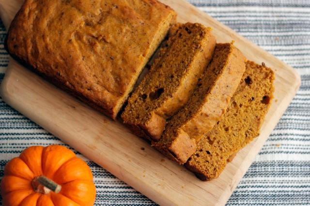 Vegan Pumpkin Bread #VeggieAngie