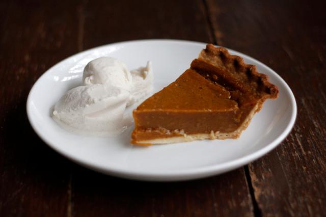 Vegan Pumpkin Pie #veggieangie