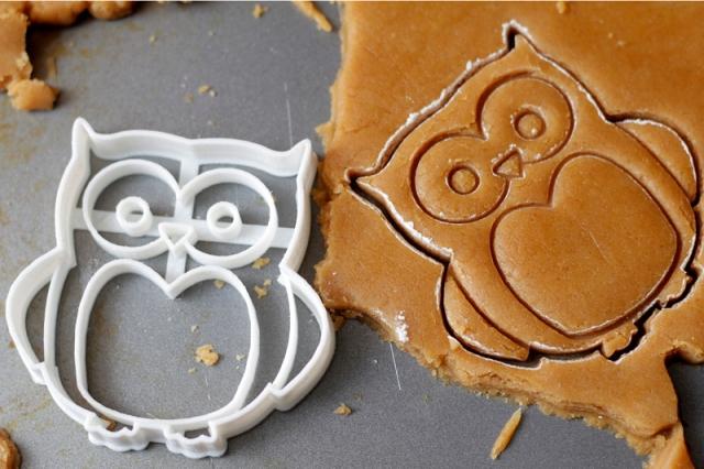 Peanut Butter Owl Cookies #veggieangie