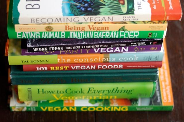Vegan Books #VeggieAngie