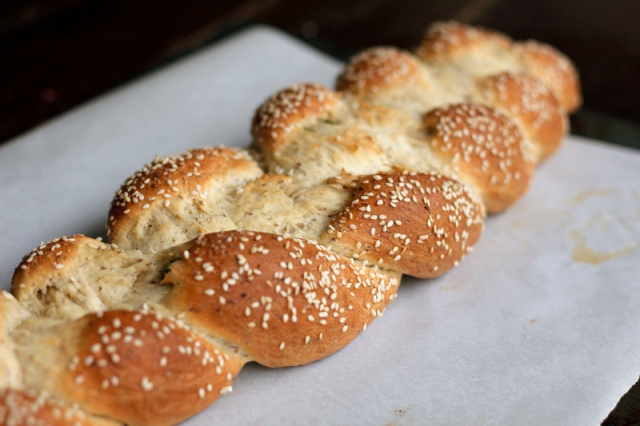 Vegan Chinese Challah Bread #veggieangie