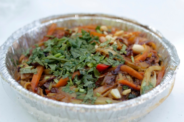 Pondicheri's Peanut Noodles #veggieangie