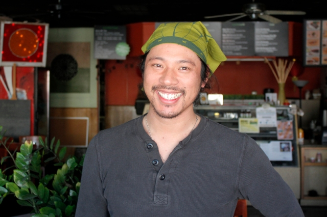 Cafe TH Chef and Owner, Minh Nguyen #veggieangie