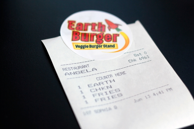 Earth Burger San Antonio #veggieangie