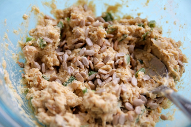 Chuck's Curry Tuna Fish Salad #veggieangie